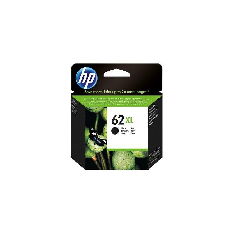 HP Cartouche noire XL HP pour Envy 5640/ Officejet 5740/ Envy 7640 (N°62XL)