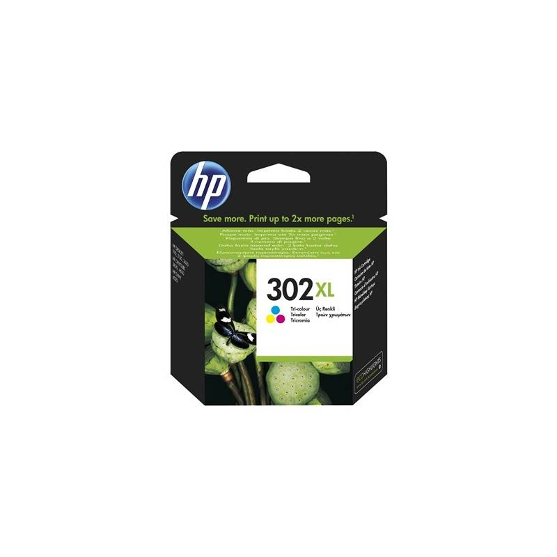 HP Cartouche d'encre tri-color HP pour officejet 3830 (N°302XL)