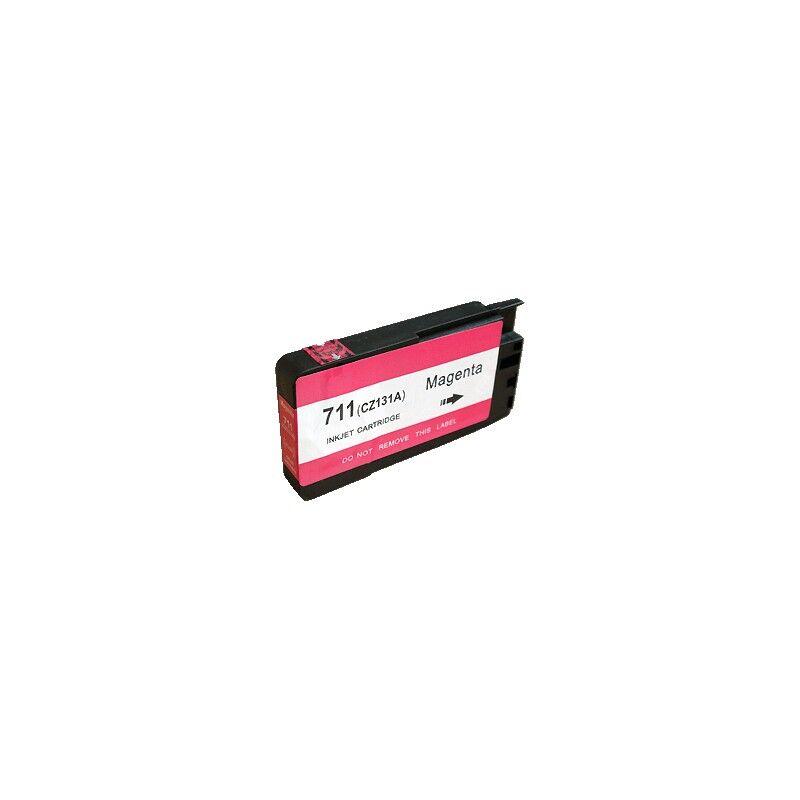 HP Cartouche d'encre générique magenta pour HP Designjet T520 ePrinter / T120 (N°711)