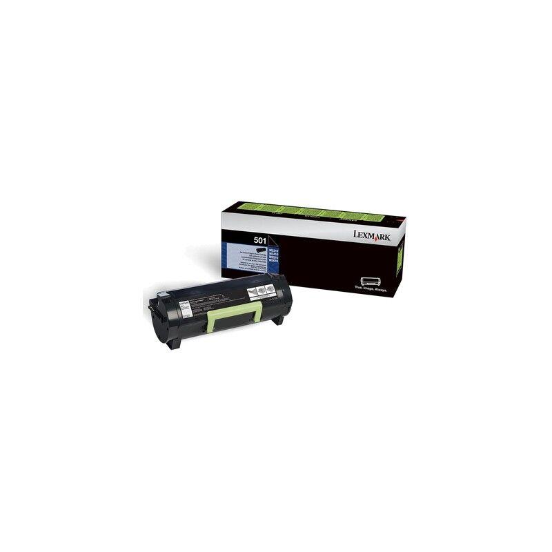 Lexmark Cartouche toner Noir Laser Long Durée pour Lexmark MS610 / MS510 ... (502X)
