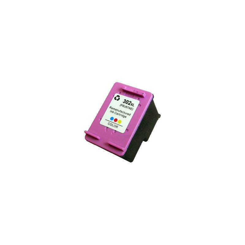 HP Cartouche d'encre Générique tri-color pour HP officejet 3830 (N°302XL)