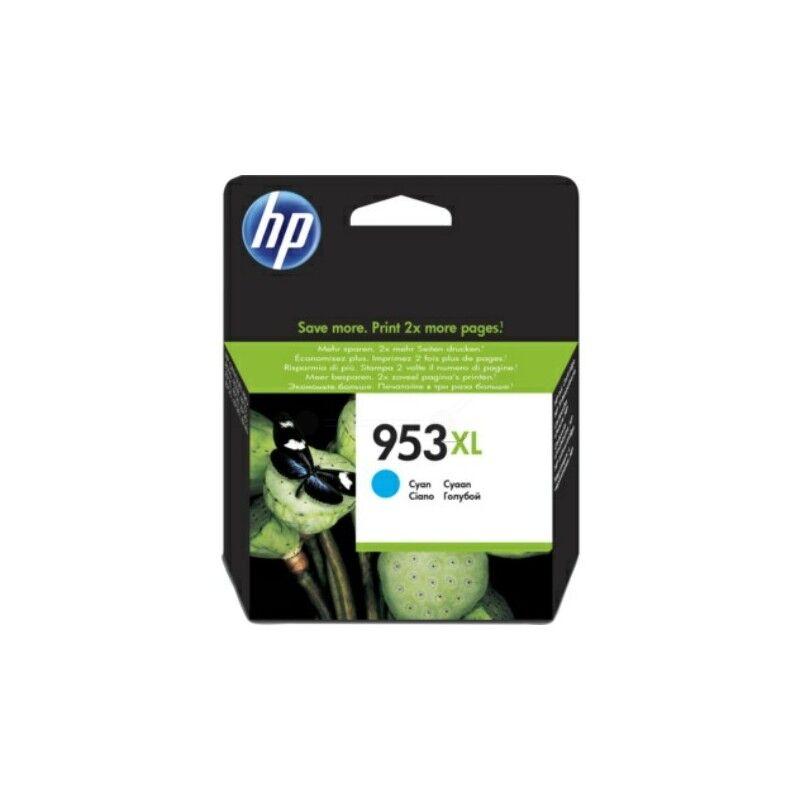 HP Cartouche jet d'encre Cyan Haute capacité HP pour Office Jet Pro 8210/ 8720/ 8740 ... (N°953XL)