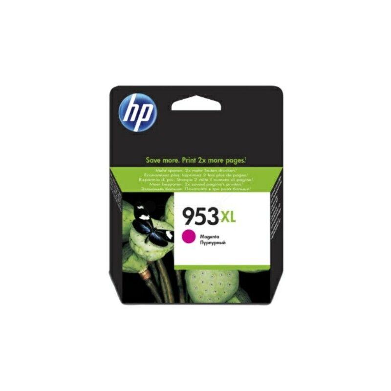 HP Cartouche jet d'encre Magenta Haute capacité HP pour Office Jet Pro 8210/ 8720/ 8740 ... (N°953XL)