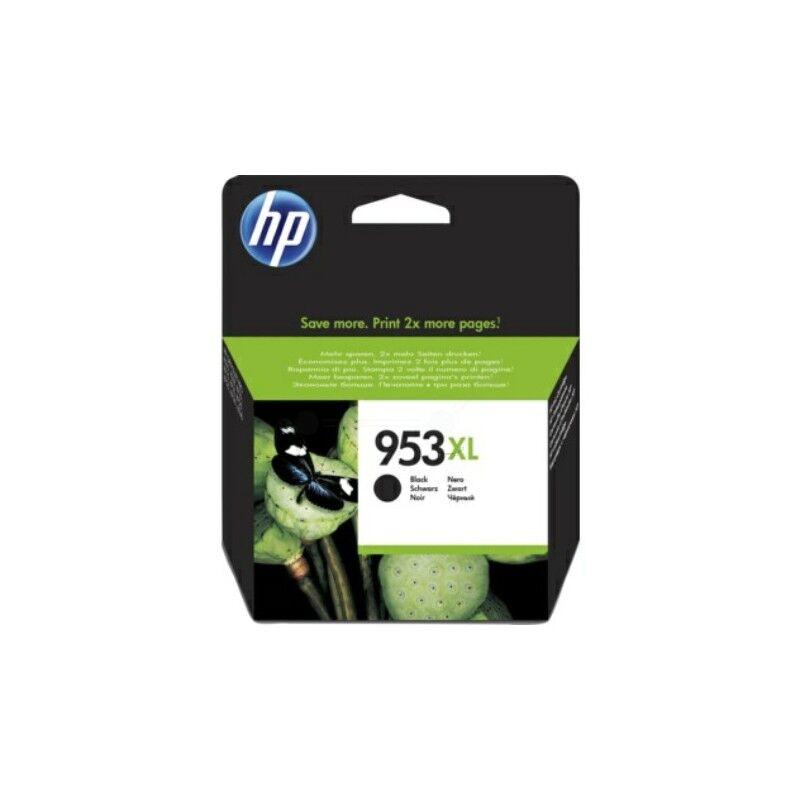 HP Cartouche jet d'encre Noir Haute capacité HP pour Office Jet Pro 8210/ 8720/ 8740 ... (N°953XL)