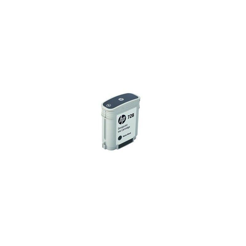 HP Cartouche d'encre Noir Mat HP Designjet T730 / T830 (N°728)