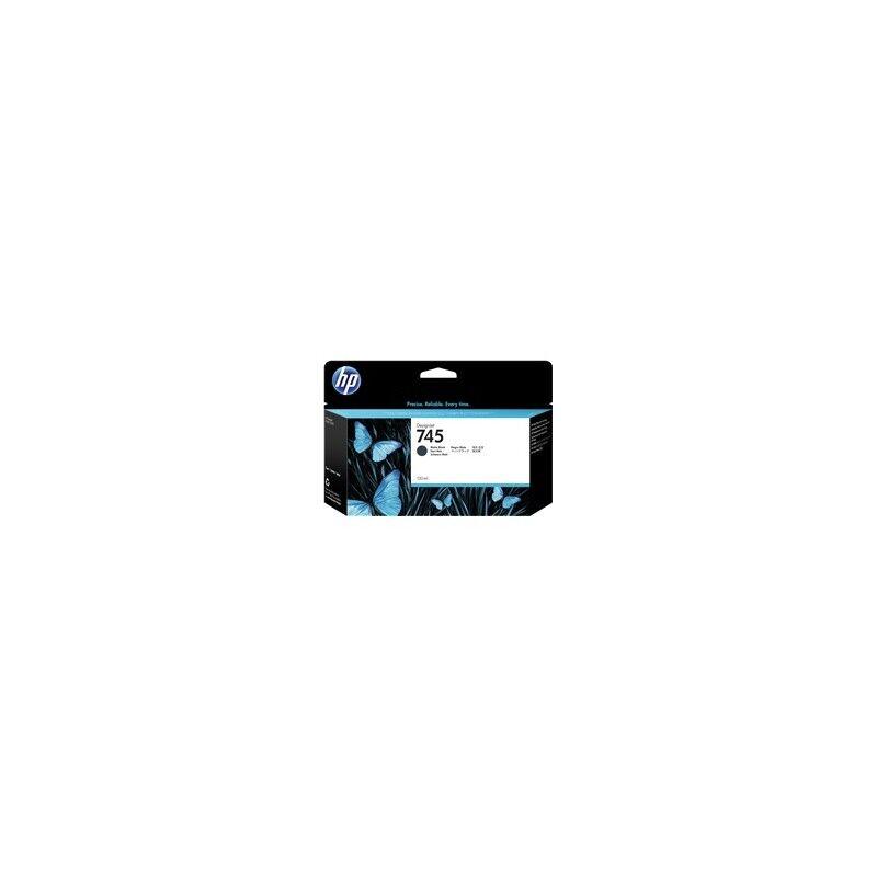 HP Cartouche d'encre HP DesignJet Z2600 / Z5600 Noir mat (N°745), 130ml