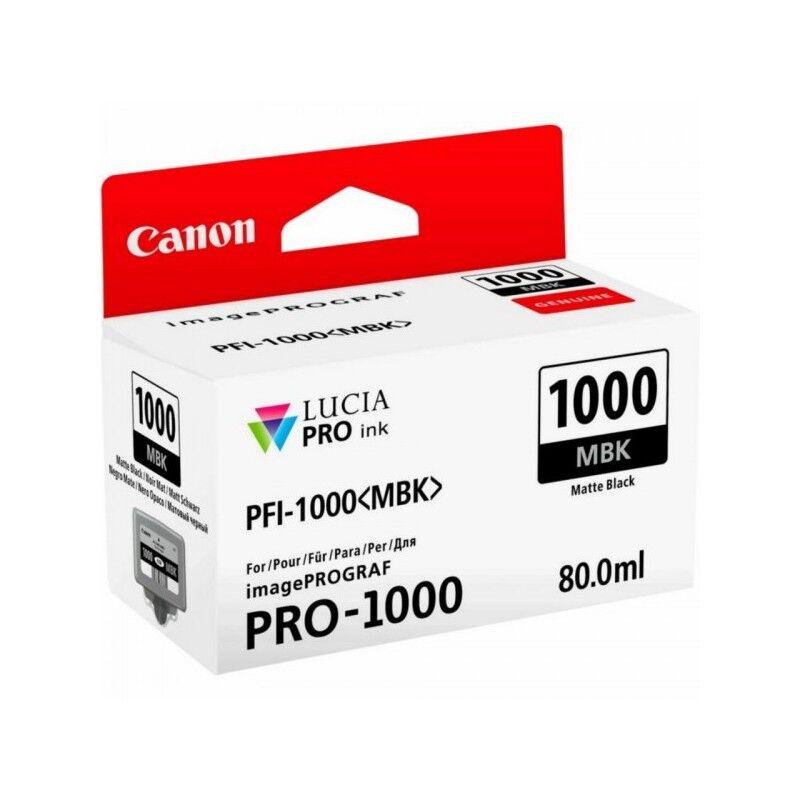 Canon Cartouche Jet d'encre Noir Mat CANON (80 ml) pour Imprimante Jet d'encre