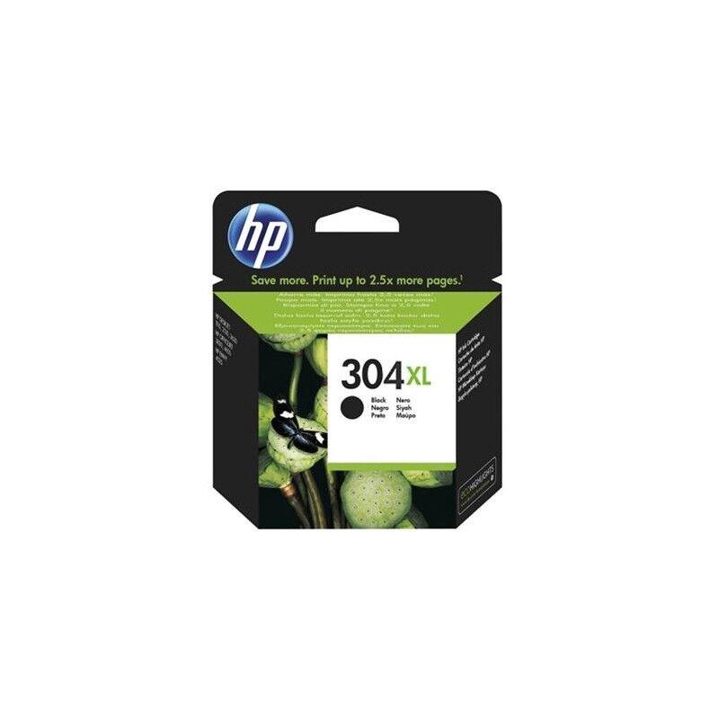 HP Cartouche Jet d'encre N°304XL Noir HP Grande Capacité (5ml)