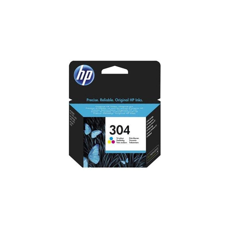 HP Cartouche Jet d'encre N°304 Couleur HP (2ml)