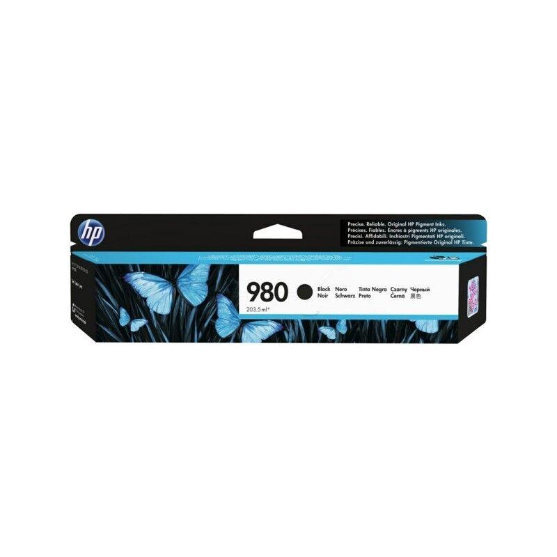 HP Cartouche d'encre noire HP pour Officejet X555DN/ X585DN (n°980)