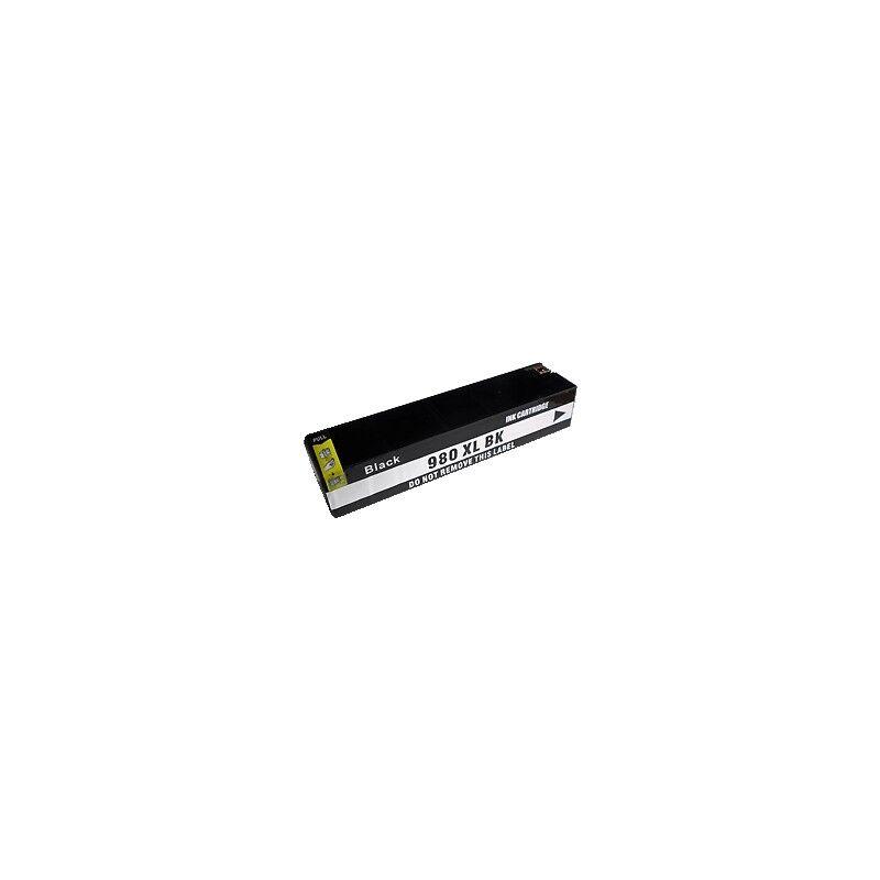 HP Cartouche d'encre noire générique pour HP Officejet X555DN/ X585DN (n°980)