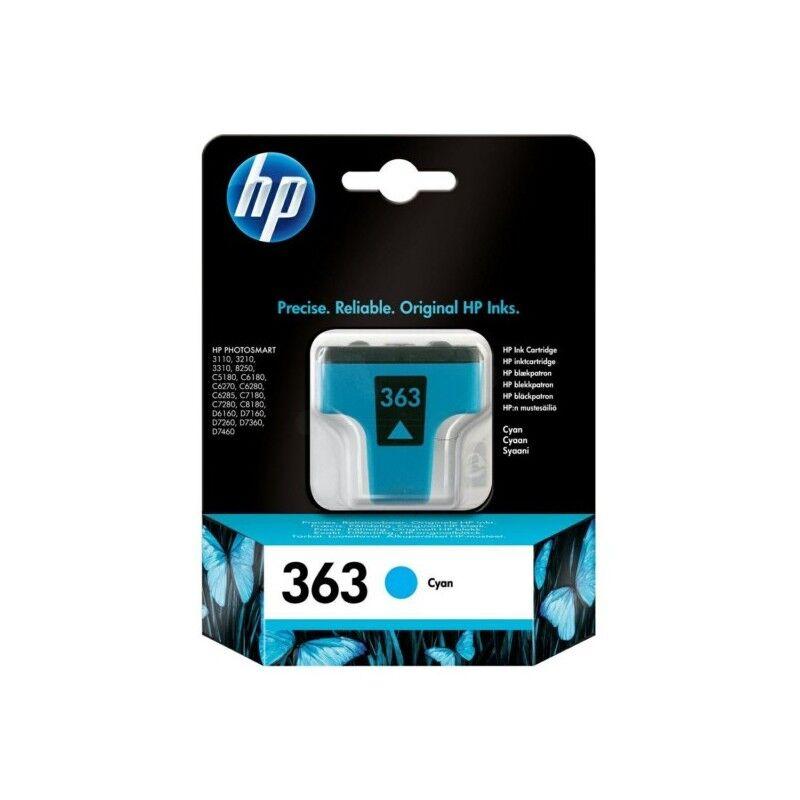 HP Cartouche cyan HP pour photosmart 3110 ... (N°363)