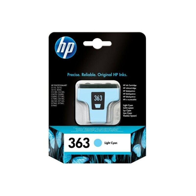 HP Cartouche cyan clair HP pour photosmart 3110 ... (N°363)