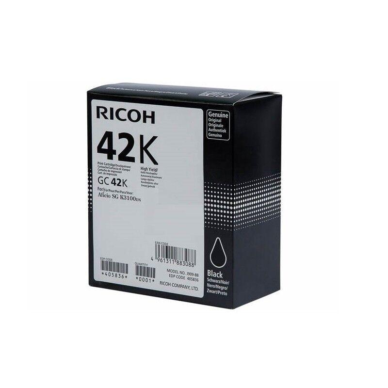 Ricoh Cartouche encre noir Ricoh pour SG K3100DN (GC-42K)