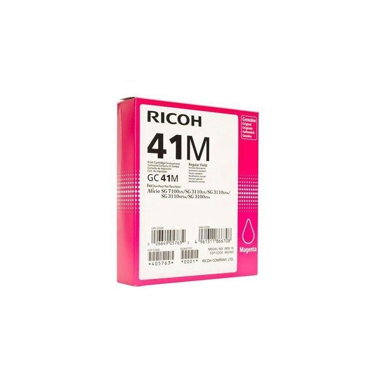 Ricoh Cartouche d'encre magenta haute capacité Ricoh pour Aficio SG3110dnw ... (GC-41M)