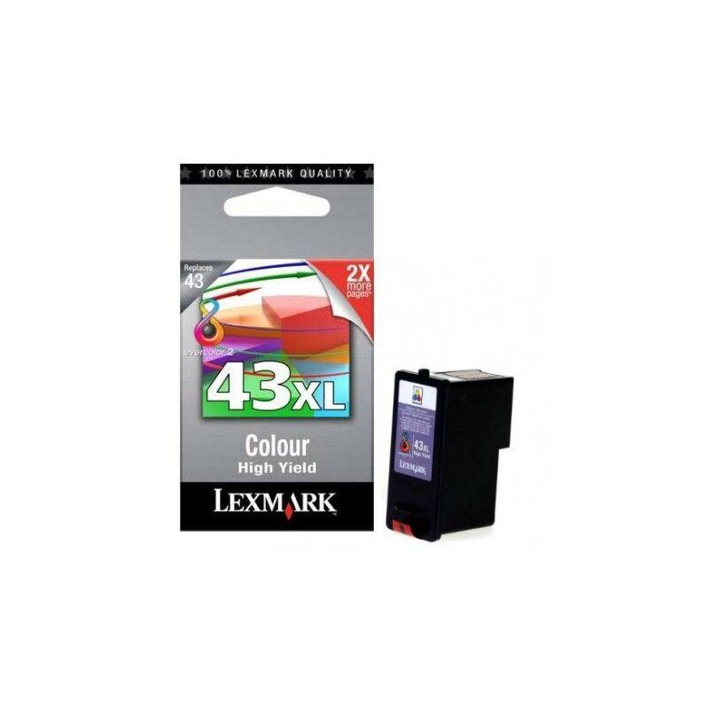 Lexmark Cartouche d'encre couleur Lexmark pour imprimante P350 / X9350 (N°43XL)