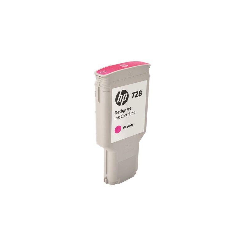 HP Cartouche d'encre Magenta Très Haute Capacité HP Designjet T730 / T830 (N°728)
