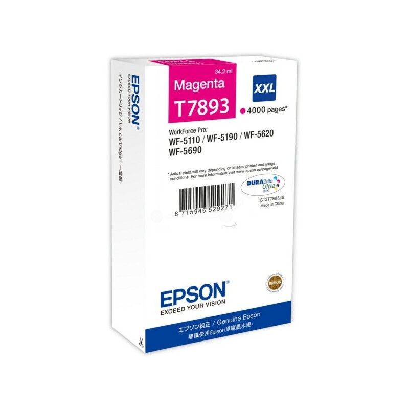 Epson Cartouche jet d'encre original Epson - Magenta XXL (T7893)