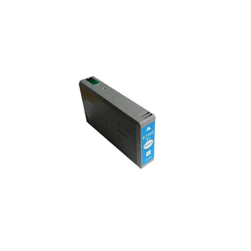 Epson Cartouche jet d'encre générique pour Epson 79XL - Cyan (TEL-C13T79024010)