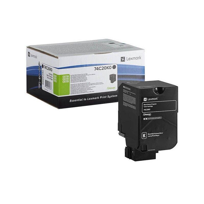 Lexmark Cartouche de toner Return Program Noire LEXMARK pour CS720, CS725, CX725 Standard (7k)