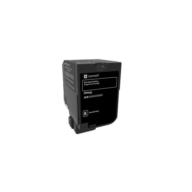 Lexmark Cartouche de toner Return Program Noire LEXMARK pour CS720, CS725, CX725 Haute Capacité (25k)