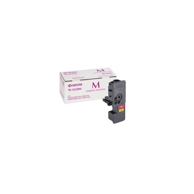 Kyocera Cartouche Toner Magenta Kyocera Mita pour Ecosys M5521cdn/ M5521cdw (TK-5220M)