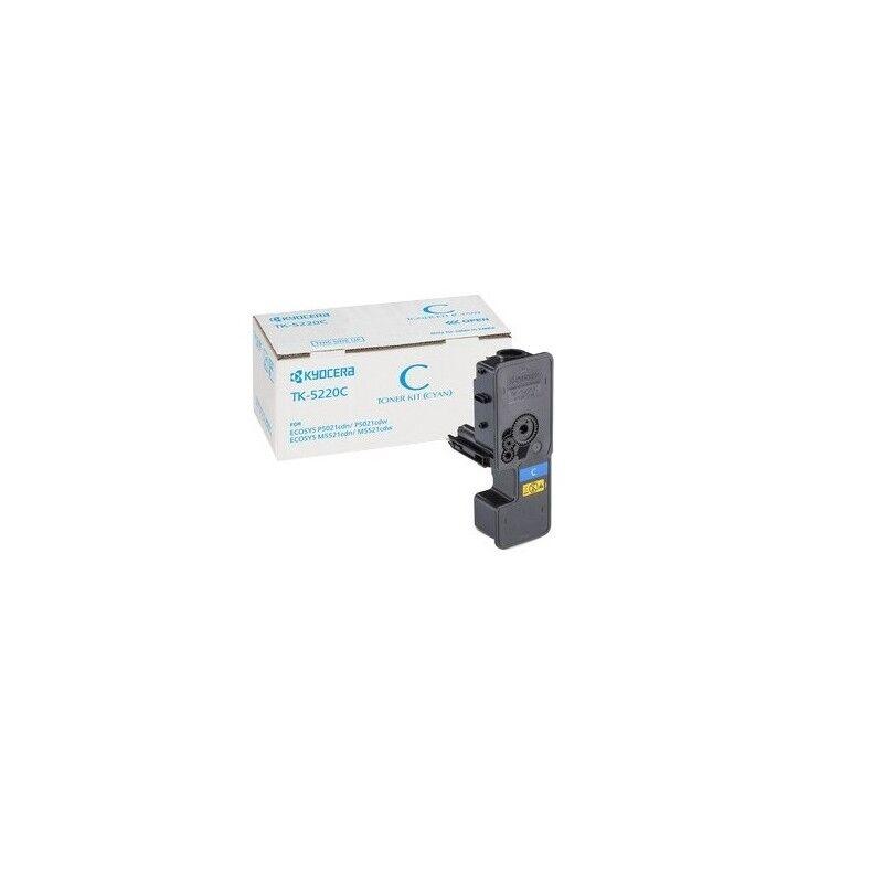 Kyocera Cartouche Toner Cyan Kyocera Mita pour Ecosys M5521cdn/ M5521cdw (TK-5220C)
