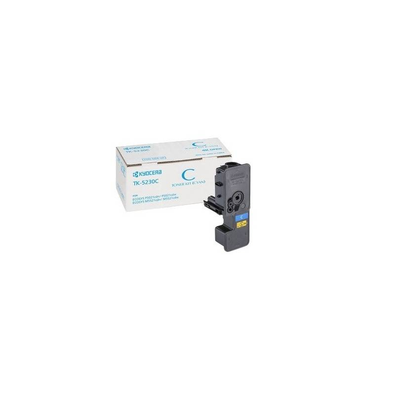 Kyocera Cartouche Toner Cyan Kyocera Mita pour Ecosys M5521cdn/ M5521cdw (TK-5230C)