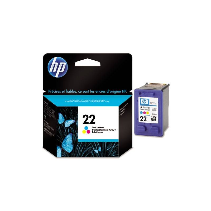 HP Cartouche Couleur HP pour Deskjet 3910 ... (N°22)