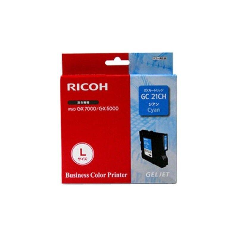 Ricoh Cartouche cyan haute capacité Ricoh pour Aficio GX5050 / GX7000 (GC-21CH)