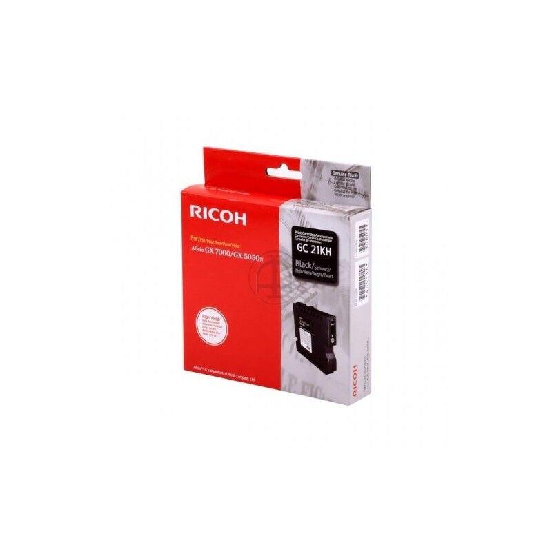 Ricoh Cartouche noir haute capacité Ricoh pour Aficio GX5050 / GX7000 (GC-21KH)