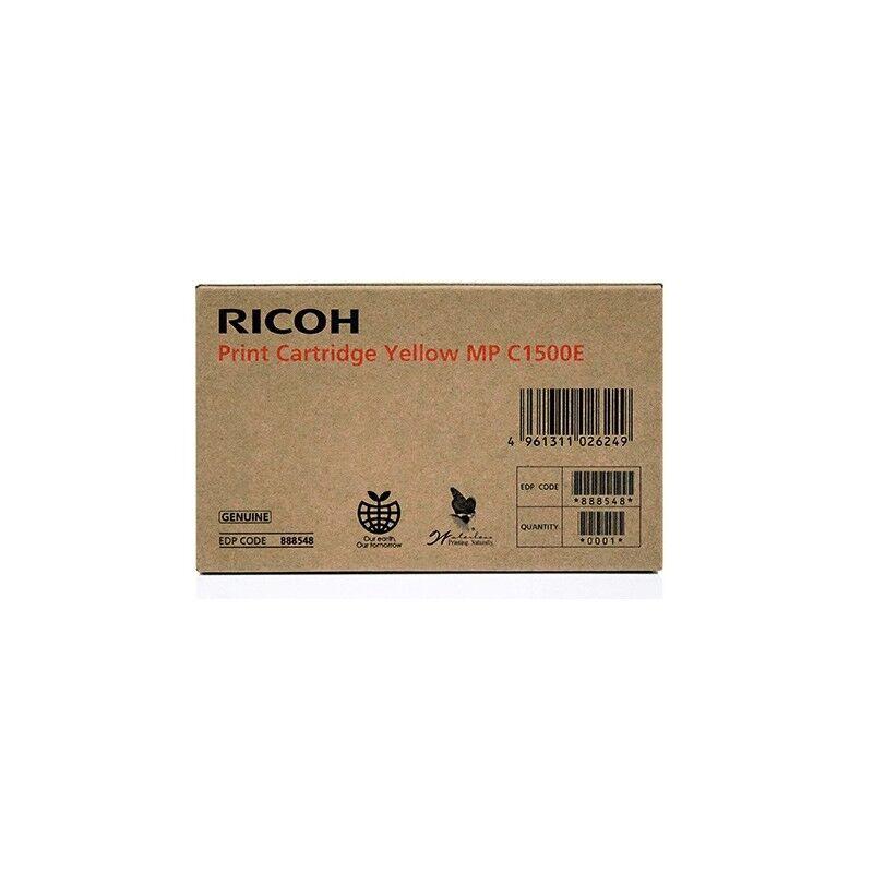Ricoh Cartouche d'encre gel jaune Ricoh pour Aficio MPC1500 / MPC1500SP