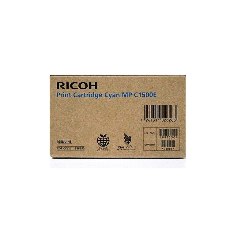 Ricoh Cartouche d'encre gel cyan Ricoh pour Aficio MPC1500 / MPC1500SP