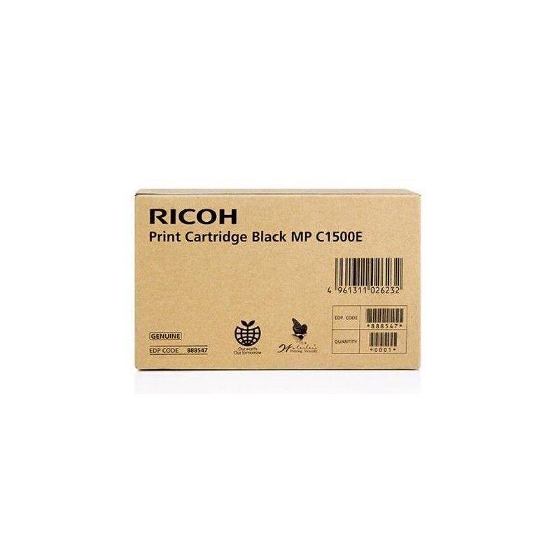 Ricoh Cartouche d'encre gel noir Ricoh pour Aficio MPC1500 / MPC1500SP