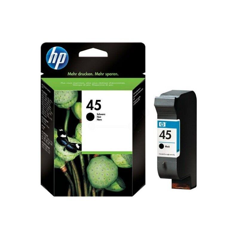 HP Cartouche Noire HP n°45 Grande Capacité pour Deskjet 750...