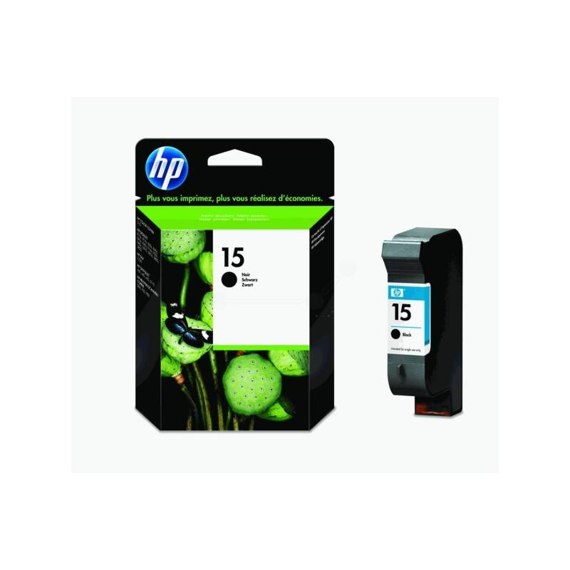 HP Cartouche Noire HP pour Deskjet 3810 (N°15)