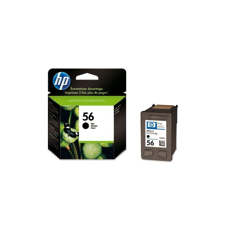 HP Cartouche Noire HP pour Dekjet 5100 ... (N°56)