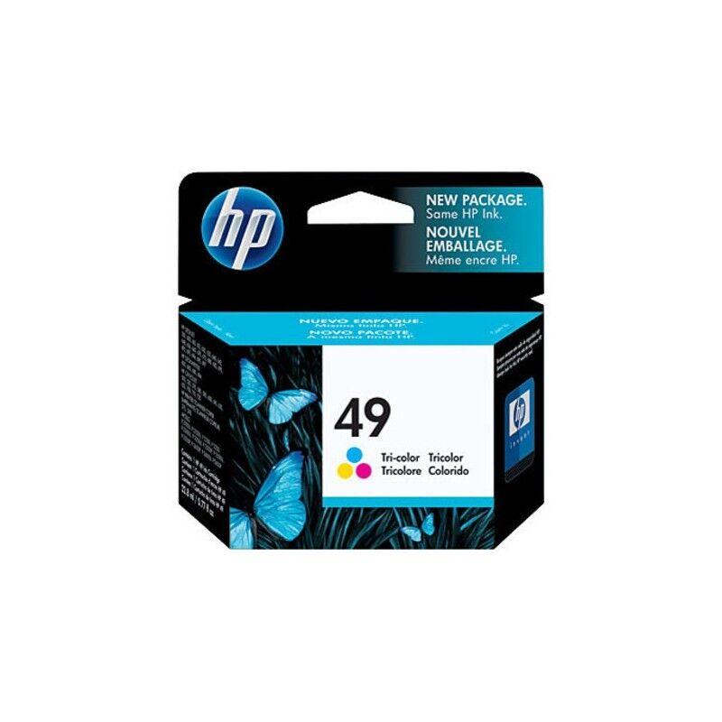 HP Cartouche 3 Couleurs HP n°49 Grande Capacité pour Deskjet 350 ... (N°49)