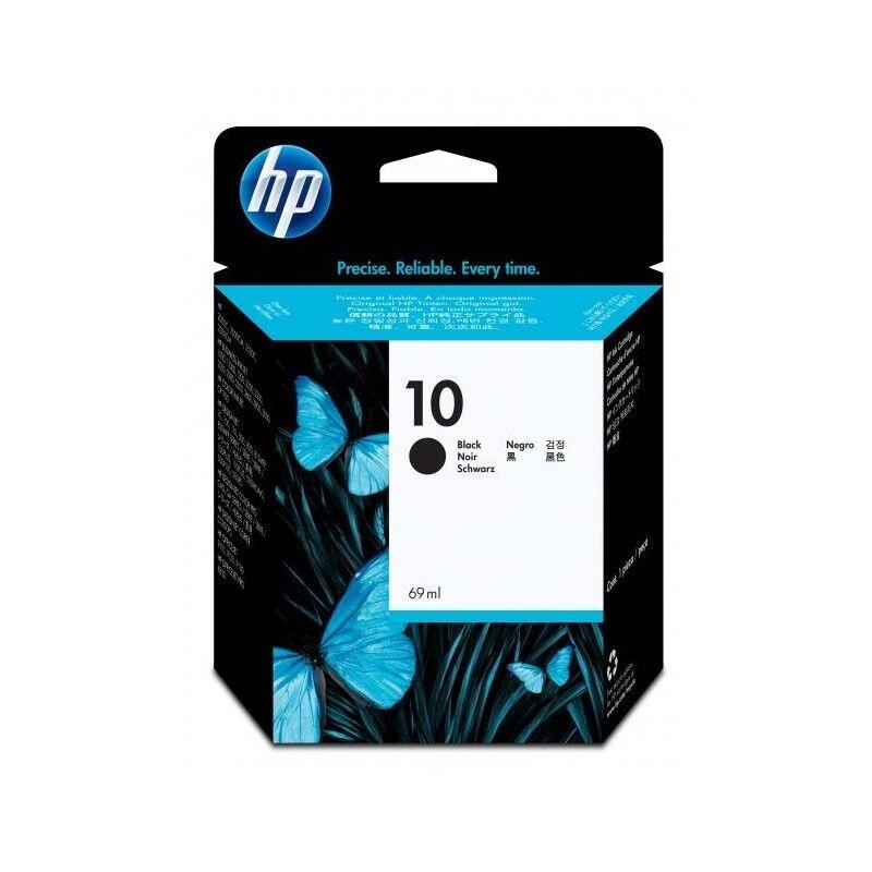 HP Cartouche Encre Noire HP N°10 (C4844AE)
