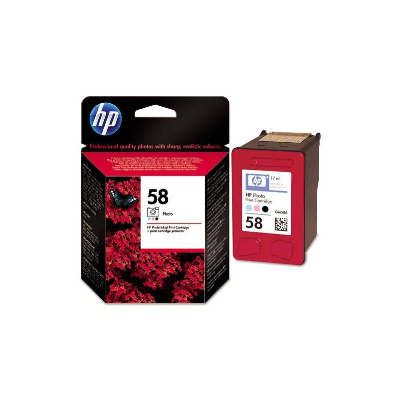 HP Cartouche Photo HP pour Deskjet 3600 ... (N°58)