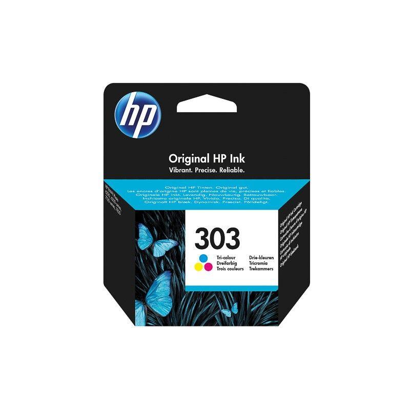 HP Cartouche d'encre couleur HP pour Envy Photo 6230, 7130, 7830 (N°303)