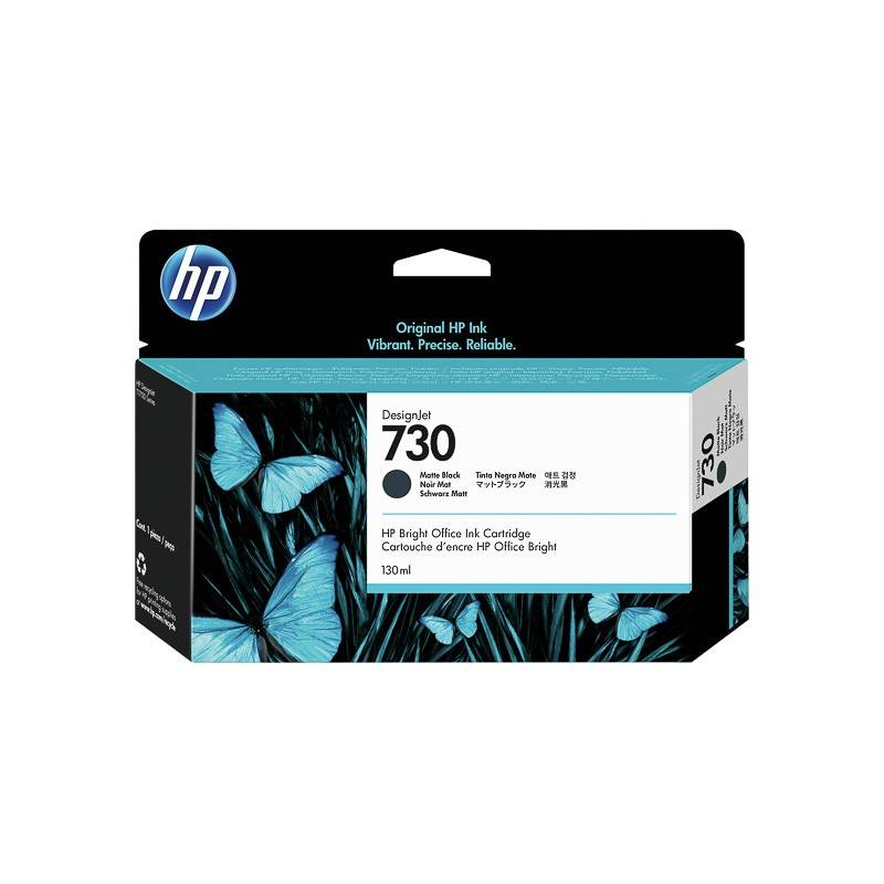 HP Cartouche Noir Mat HP pour Designjet T1700 (N°730)