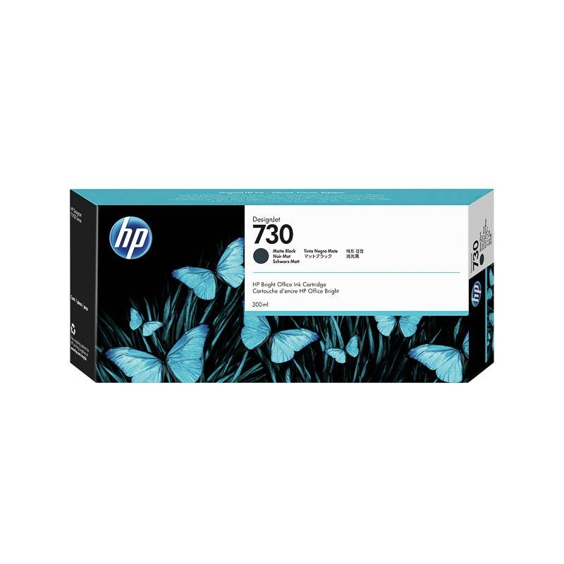 HP Cartouche Noir Mat Haute Capacité HP pour Designjet T1700 (N°730)