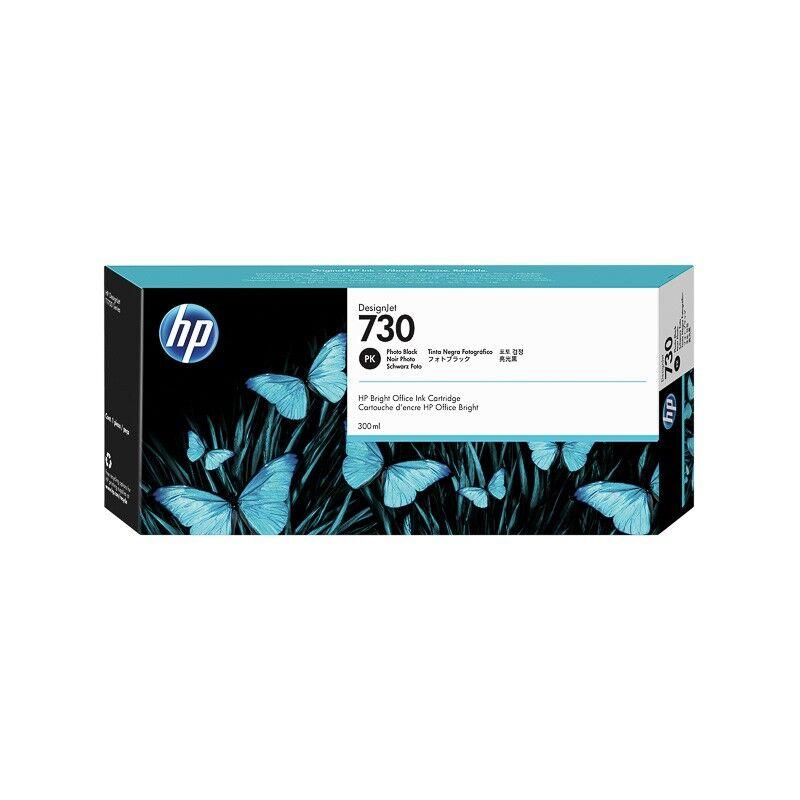 HP Cartouche Noir Photo Haute Capacité HP pour Designjet T1700 (N°730)
