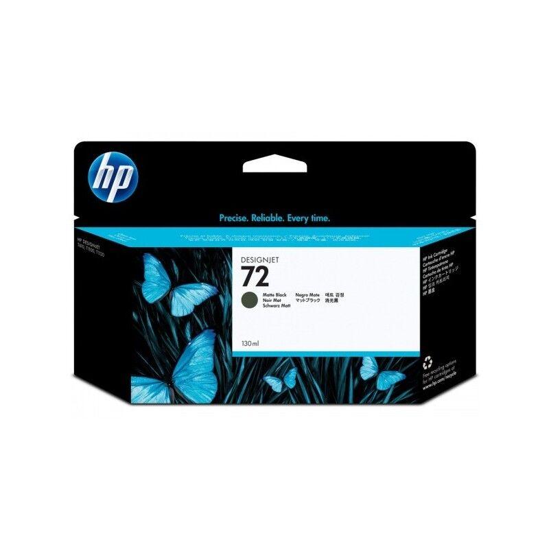 HP Cartouche noir mat Vivera HP pour HP T610 / T1100 ... (N°72)