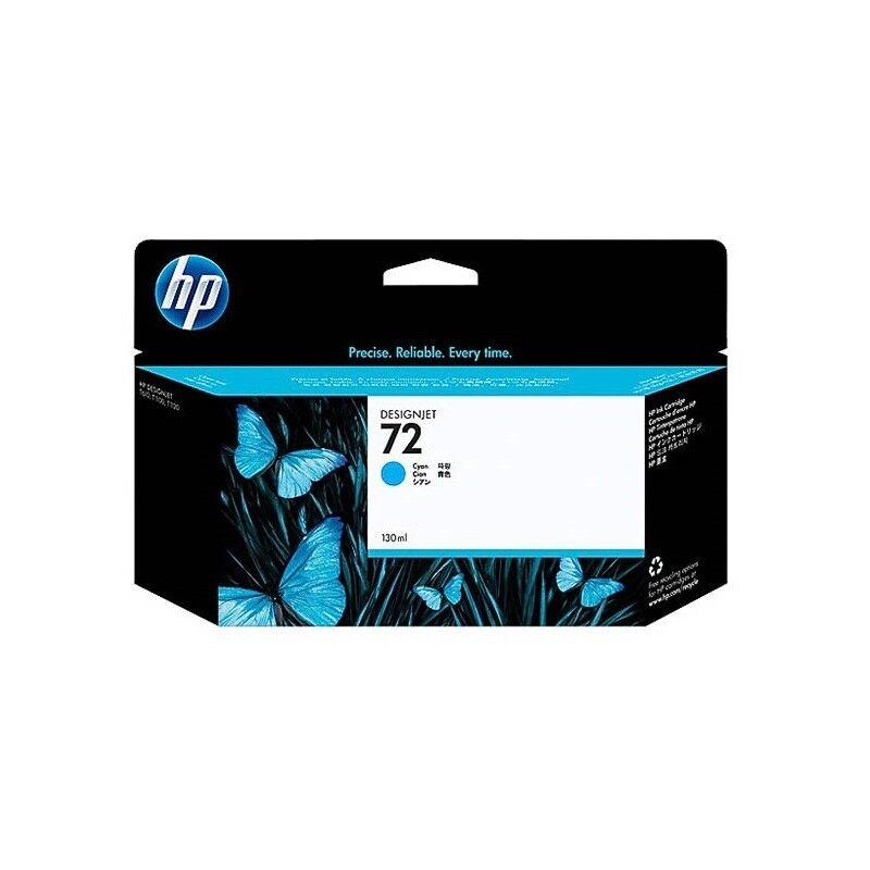 HP Cartouche cyan HP Vivera pour HP T610 / T1100 ... (N°72)