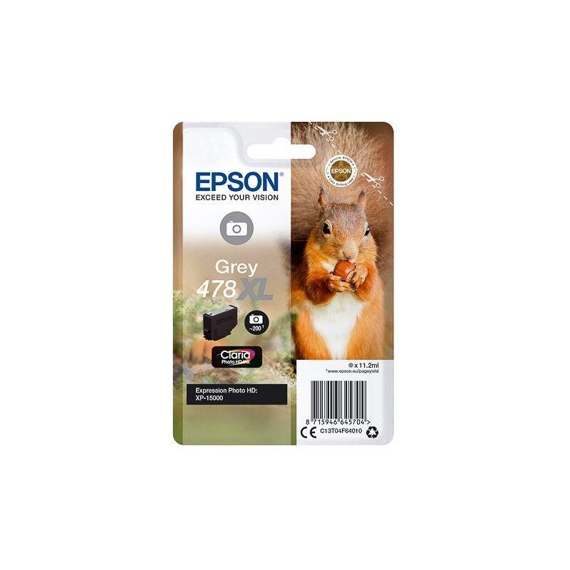 Epson Cartouche Gris XL Epson pour Expression Premium XP 15 000 HD ... - (n°478XL - Ecureuil)