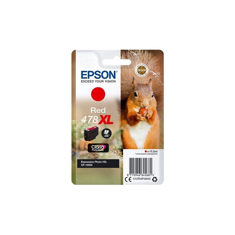 Epson Cartouche Rouge XL Epson pour Expression Premium XP 15 000 HD ... - (n°478XL - Ecureuil)