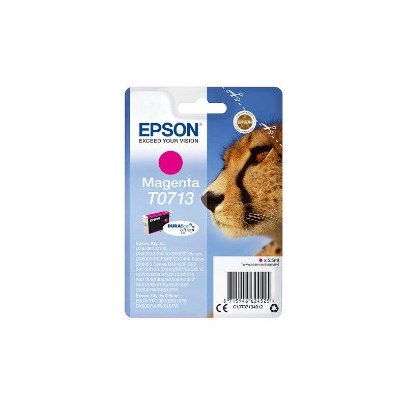 Epson Cartouche d'encre magenta Epson pour Stylus DX6050 / 4000 / 5000 (T0713)