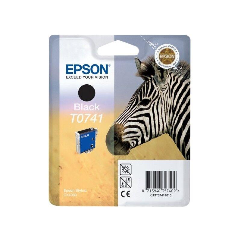 Epson Cartouche d'encre noir Epson pour Stylus CX4080 (T0741)